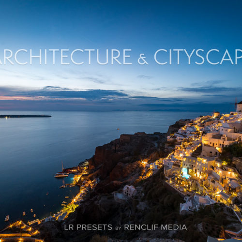 Architecture & cityscape lightroom presets