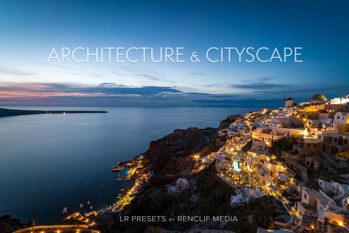 Architecture & cityscape lightroom presets