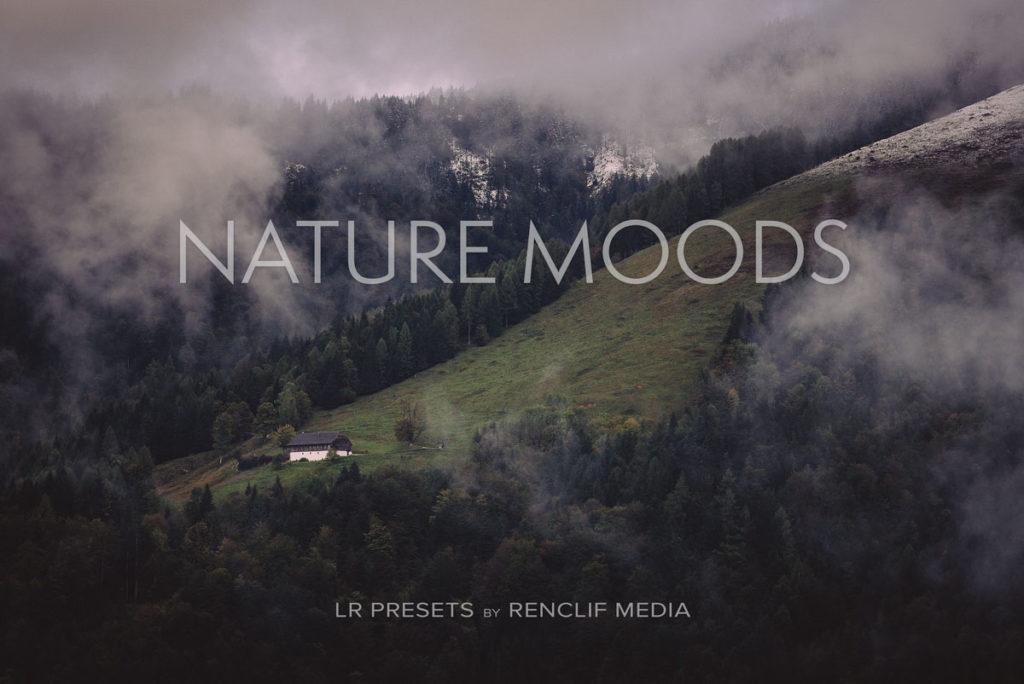Nature moods lightroom presets