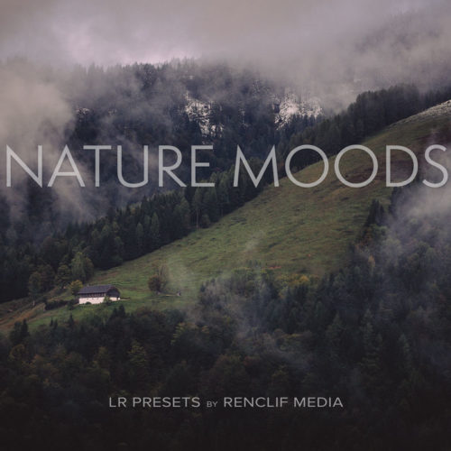 Nature moods lightroom presets