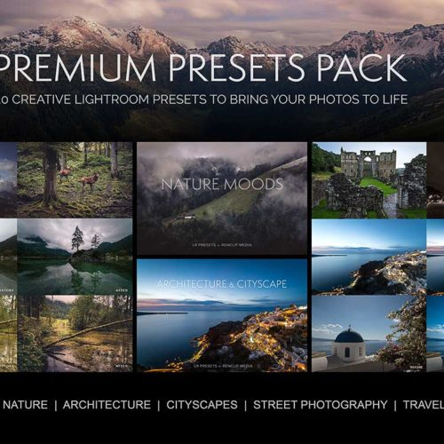 Premium presets pack 30 creative lightroom presets