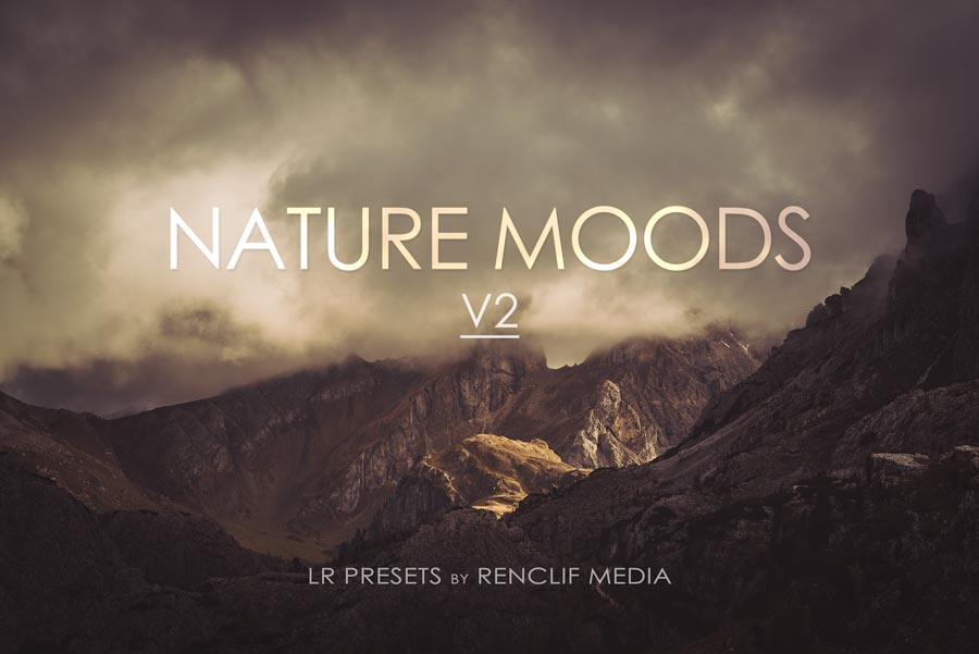 Nature Moods V2 lightroom presets for desktop and mobile