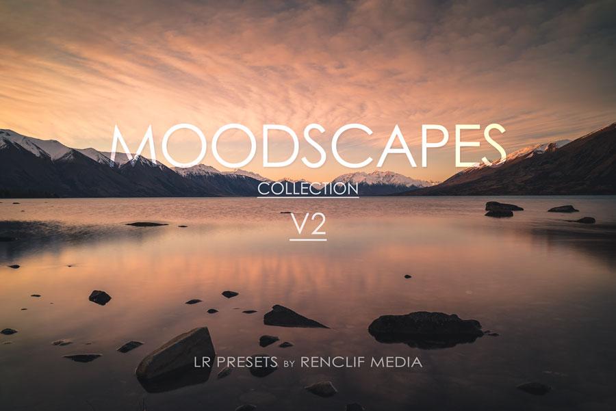Moodscapes V2 lightroom presets
