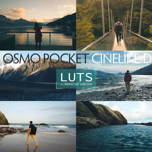 Free Cinematic Luts for Osmo Pocket