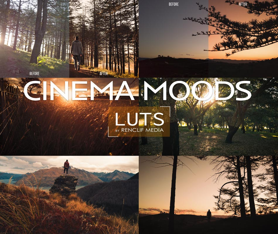 Cinema Moods Premium LUTs for Premiere Pro