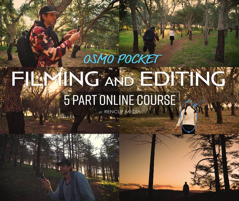 Osmo Pocket video editing course