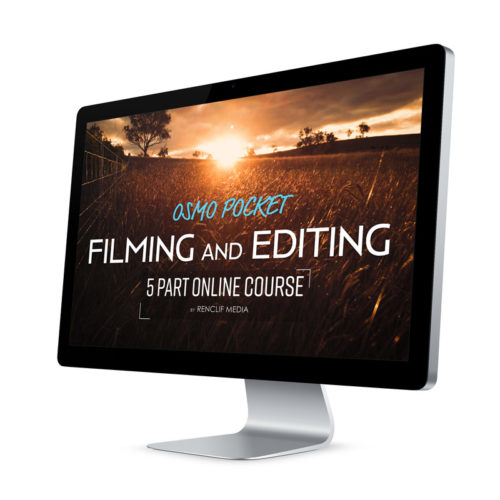 Osmo Pocket video editing online course