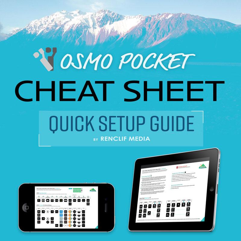 Dji Osmo Pocket Cheat Sheet digital download